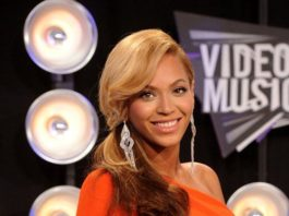 Beyonce at the 2011 MTV Video Music Awards