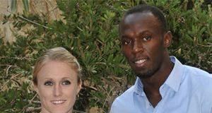 Sally Pearson & Usain Bolt