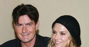 Charlie-Sheen&Brooke-Mueller