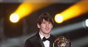 Lionel Messi 2011 Best Player