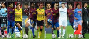 UEFA Team of the Year 2011