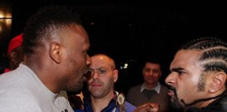 Dereck Chisora vs David Haye